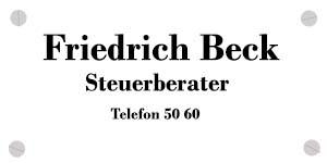 Friedrich Beck Steuerberater in Quickborn